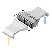 光触媒脱臭装置 i-クリンキューブ(Type-T)